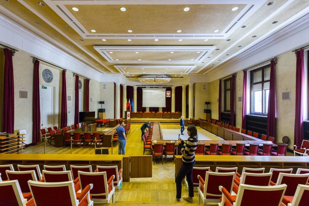 Sala Warszawska w Pałacu Kultury i Nauki